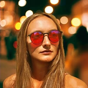 Blue Blocking Night-time Glasses – Brooklyn