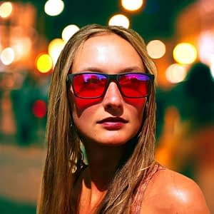 Blue Blocking Night-time Glasses – Hudson