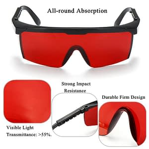 Blue Blocking Glasses Red Lenses – Biohacker