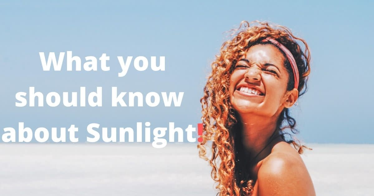 The many benefits of sunlight. Why it doesn't cause skin cancer.