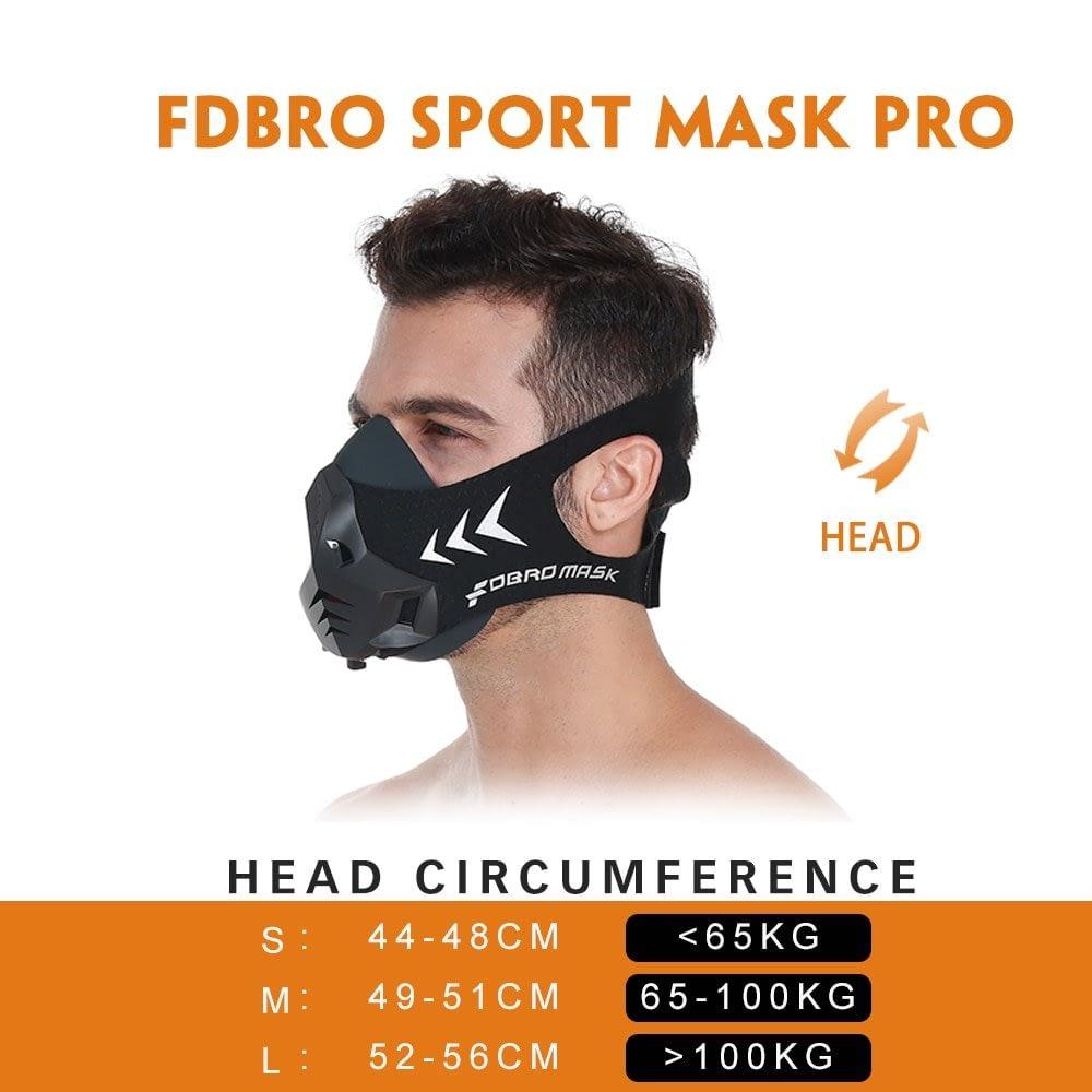 Elevation Training Mask High Altitude Sport Mask